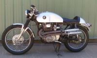 1970 Honda CB350 cafe racer