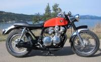 1981 Honda CB750 cafe racer